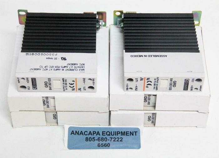 Crouzet GRD 84130103 Solid State Relay Input 4-32VDC Output 24-280V LOT 4 (6560
