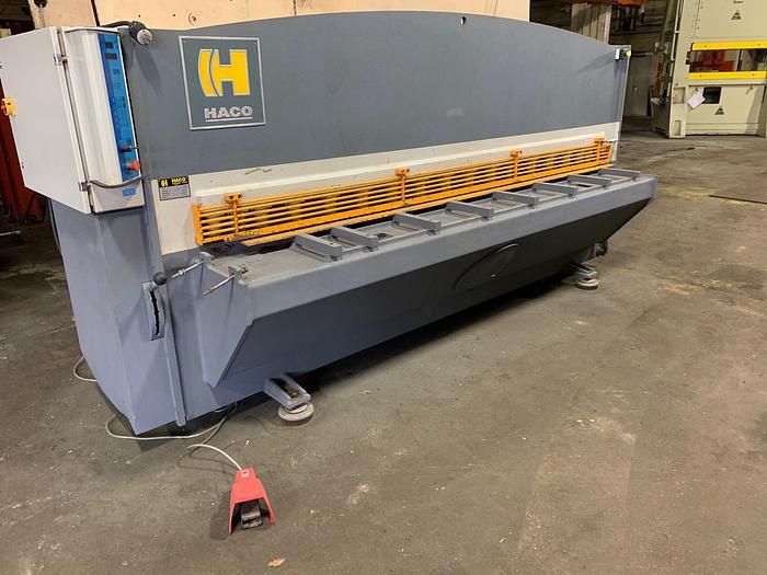 """Used HACO 10' x 1/4"""" Hydraulic Shear"""