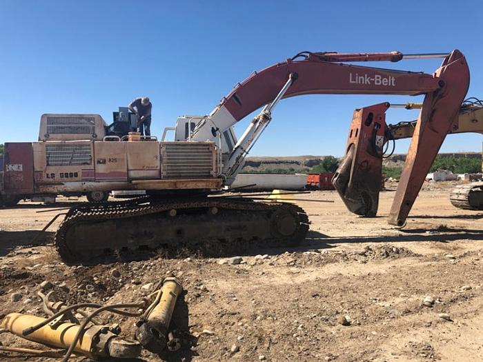HB18237 Link Belt excavator LS5800 C Series II set up for magnet