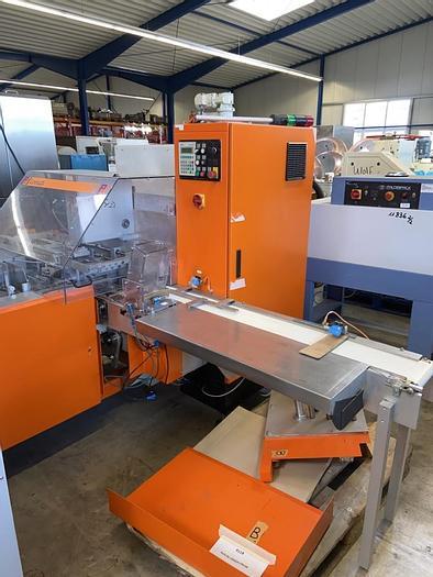 Gebraucht Tafelpackmaschine LOESCH Type LTM-GR für 100 gr. Tafeln, Baujahr 1996