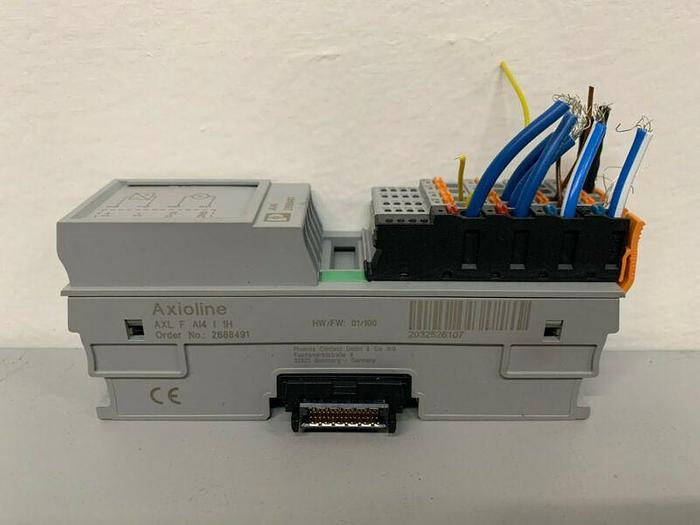 Used Phoenix Contact Axioline AXL F AI4 I 1H I/O Module