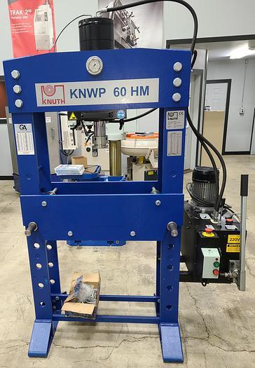 NEW Knuth KNWP 60 HM Hydraulic Workshop Press