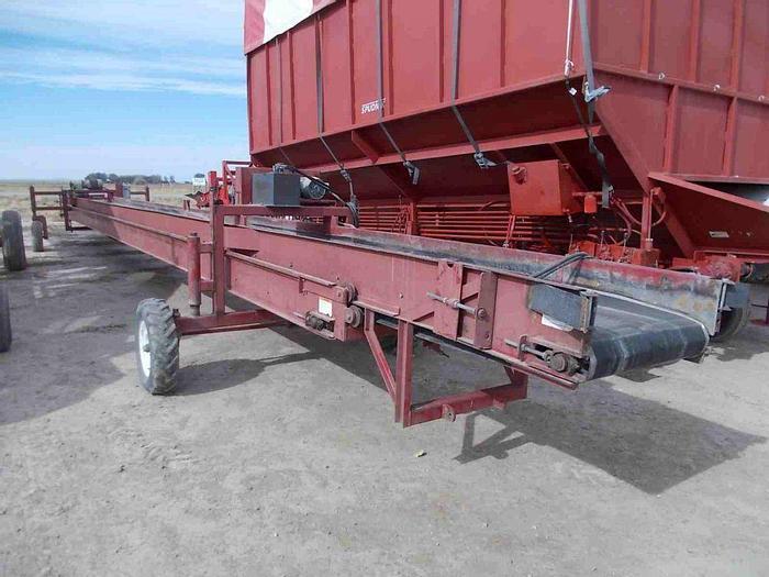 Used 85' Spudnik 1255 Telescoping Conveyor