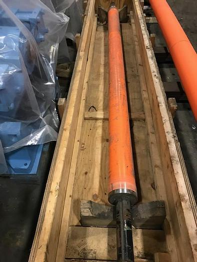 """Used BOWED ROLL 6"""" (152MM) DIA. X 113"""" (2.87M) FACE"""