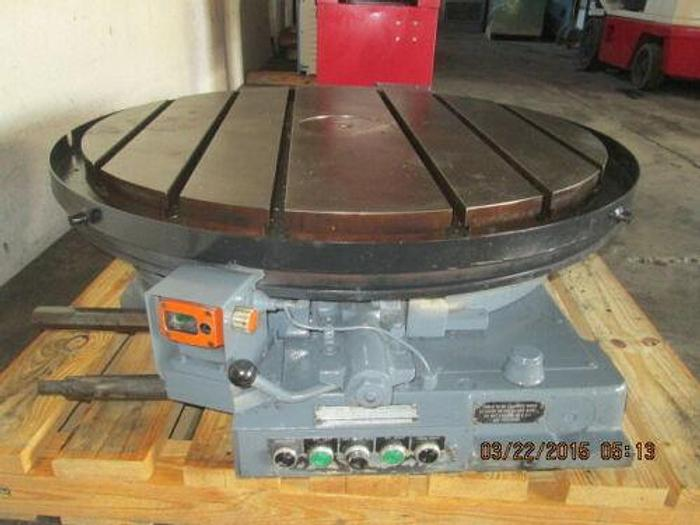 "Used LUCAS 42"" PRECISION MOTORIZED ROTARY TABLE WITH CNC CONNECTORS"