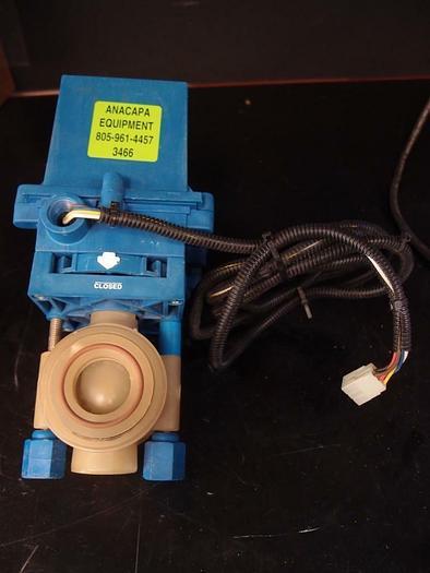 Used True Blue Plast-O-Matic Valves Electric Actuator EBV-104 (3466)