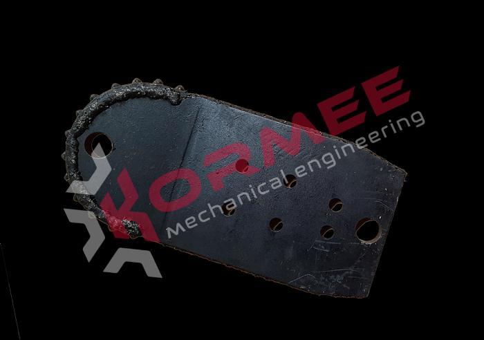"""Kormee Stuurplaat 6"""" 180 Blade VM 6-bolt"""