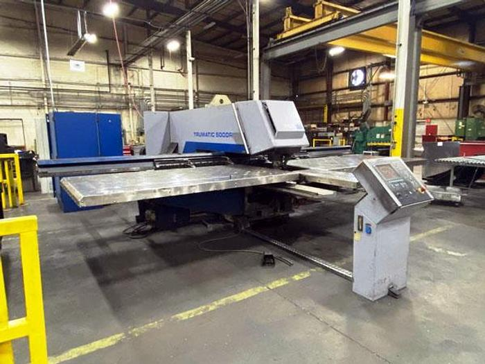 Used 3110, Trumpf, TC5000 25 Ton, CNC 5' x 10' Table, 2004