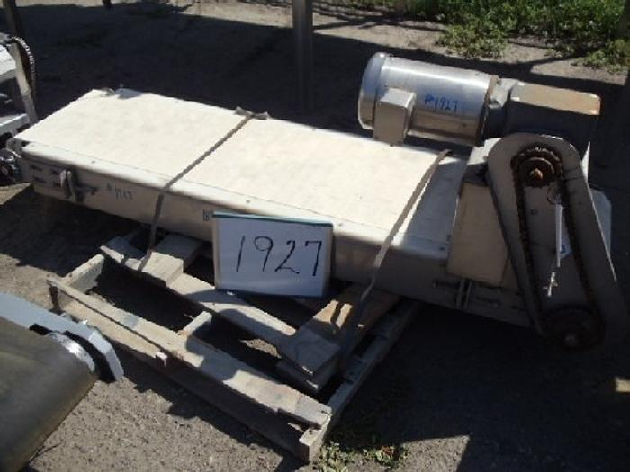 Used 18'' Wide x 7' long Intralox Belt Conveyor