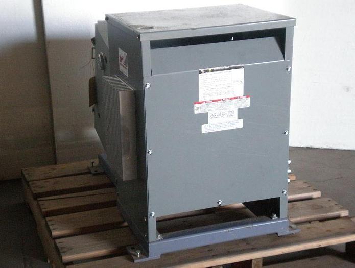 Used 15 KVA Square D Transformer; Cat# 15S1H