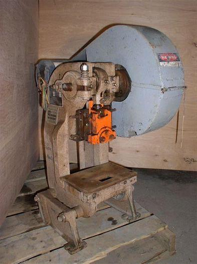 "Used 5 Ton Rousselle #OA OBI, Bench Model, 7"" x 10"" Bed, 1"" Str., 200 S.P.M., Mint, 1980"