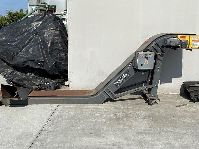 Used 2005 New London Steel Trak Slug Conveyor