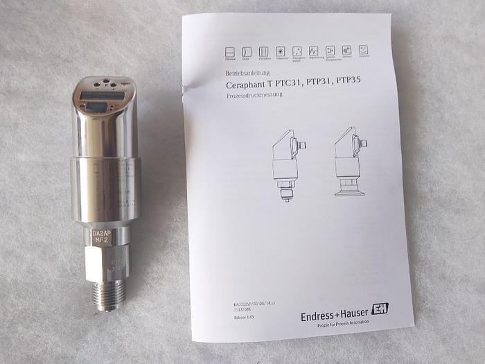 Intellig. Druckschalter, Ceraphant T, PTP31-A1C13H1AE1A, Niro, Endress und Hauser,  neu