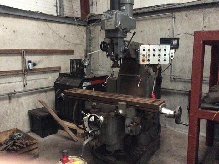 Used Semco LC-20 VSG Turret Milling Machine