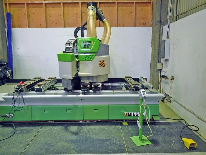 Used 2001 Biesse Italy Rover 22- 4 axis