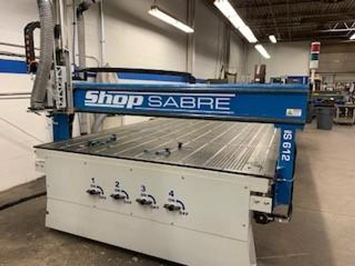2017 SHOP SABRE  CNC ROUTER IS 612
