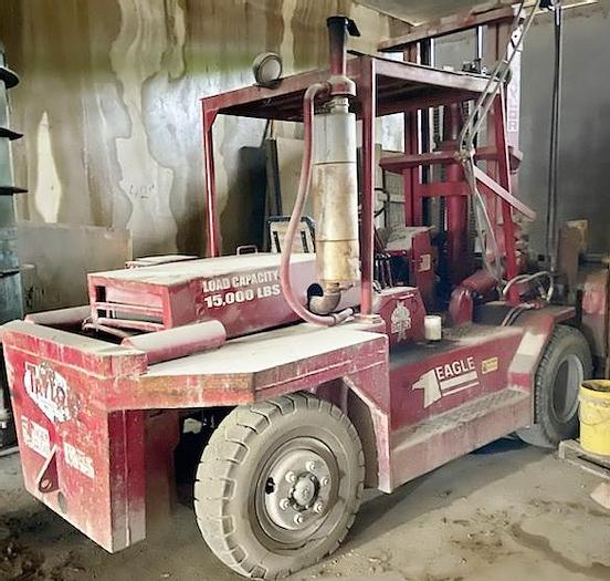 Used 1976 Taylor Big Red Y15WS Forklift