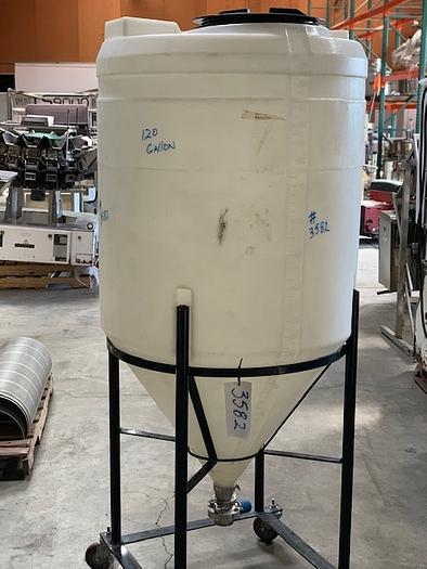 120 Gallon Poly Fermentation Tank