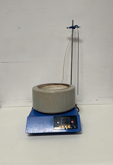 Used ZNCL-TS 5000ml Digital Magnetic Stirrer Electric Heating Mantle Mixer 220V