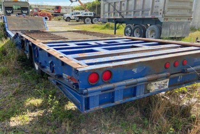 Used Trail King Beavertail Drop Deck Trailer