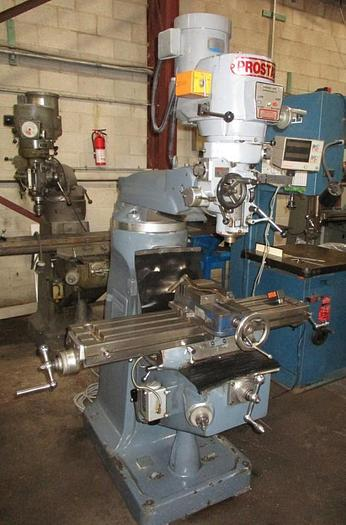 "9"" x 42"" PROSTAR VERTICAL MILLING MACHINE"