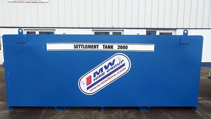 2000L Settlement Tank