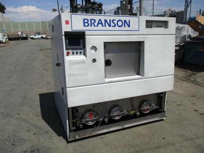 Used VERY EXPENSIVE BRANSON MODEL CPN-217-126H ULTRASONIC SPIN WASHER / RINSE / DRYER
