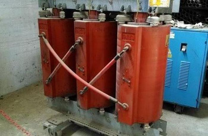 Usata Trasformatore elettrico, Marnate - 630 Kva