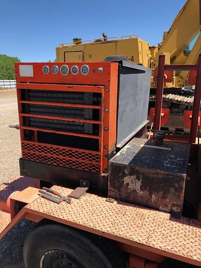 HB18252 compressor welder trailer