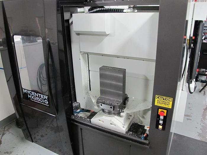 2018 Kitamura Mycenter HX250iG 4-Axis CNC Horizontal Machining Center