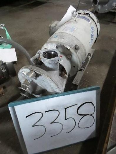 Used Fristam 2 1/2'' x 2 1/2'' Centrifugal Pump
