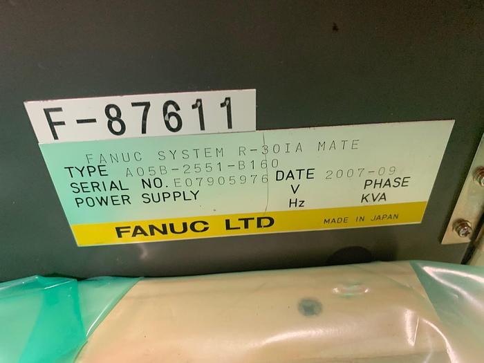 2007 FANUC LR MATE 200iC