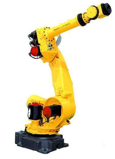 Used FANUC R2000iA/165F ROBOT W/RJ3IB CONTROLLER