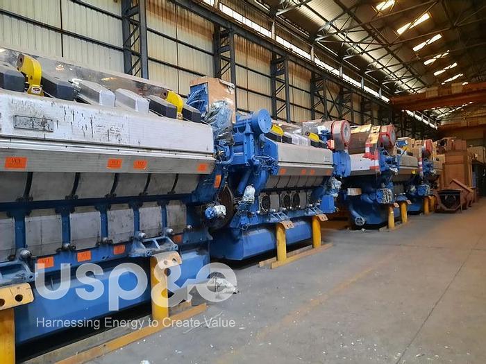 4 MW 2010 New Wartsila 12V26A2 Diesel Generator
