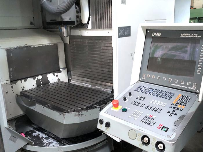 2000 Bearbeitungszentrum DECKEL MAHO DMG DMU 60 T