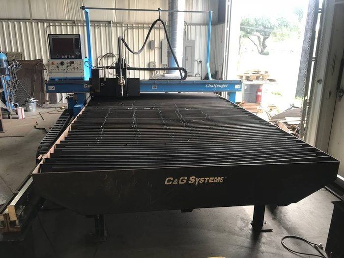 Challenger 6'x12' Plasma Table CNC
