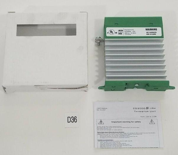 *NEW* CD Automation CD3000S 1PH/25A/277V/4