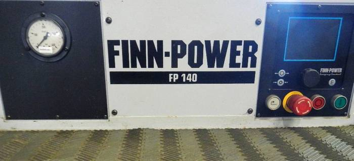 FINN POWER # FP-140, CRIMPING & SWAGER MACHINE 2.5""