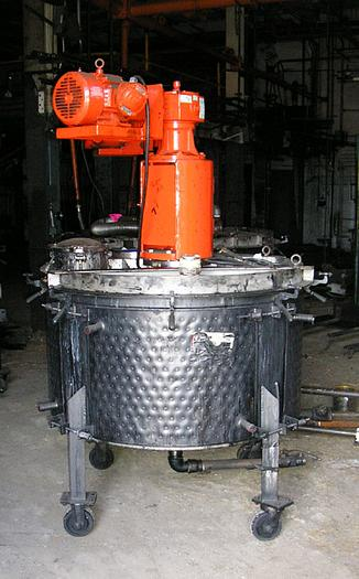 188 Gal Alloy Fabricators Portable Mixing Tank