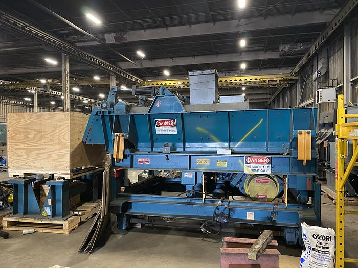 GENERAL KINEMATICS FRC 48/ 60 X 12 FURNACE CHARGE FEEDER