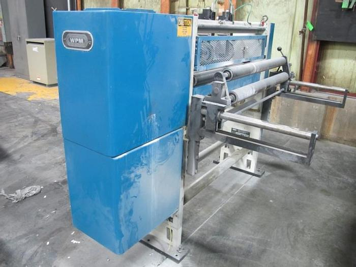 """Used 38"""" (686MM)  WPM SHEAR SLITTING SECTION"""
