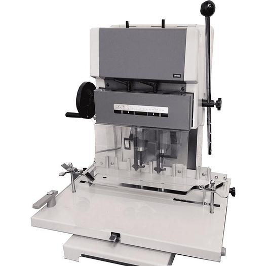 Uchida VS200 Heavy Duty Programmable Twin Spindle 2 Hole Paper Drill