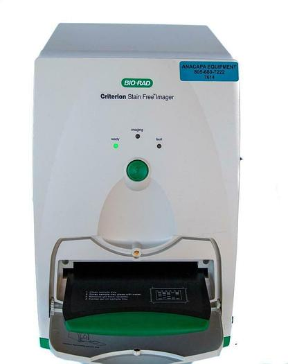 Used Bio-Rad Criterion Stain Free Imager with Sample Tray and Power Cord (7614)W