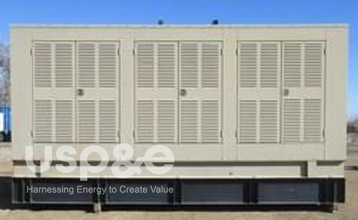 Used 2000 Cummins 1250kW Diesel Generator 2000 KTA50-G3