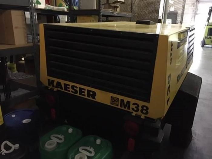 Kaeser, Year 1999, M38 Mobile Air Compressor