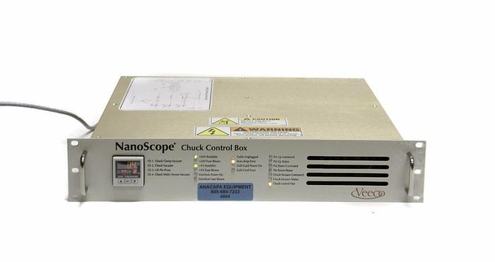 Used Veeco NanoScope Chuck Control Box From VX330 Atomic Force Profiler (4064)