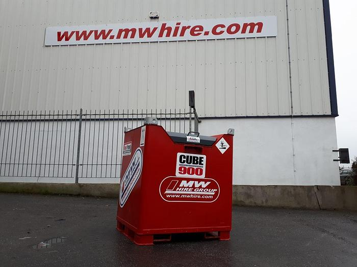 Used 900L Fully bunded fuel cube