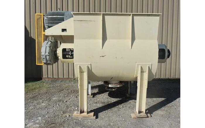 USED PLOW BLENDER, 40 CUBIC FEET
