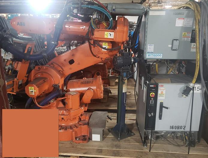 Used 2011 ABB IRB 6640 235/2.55 WITH IRC5 CONTROLS, CABLES & TEACH