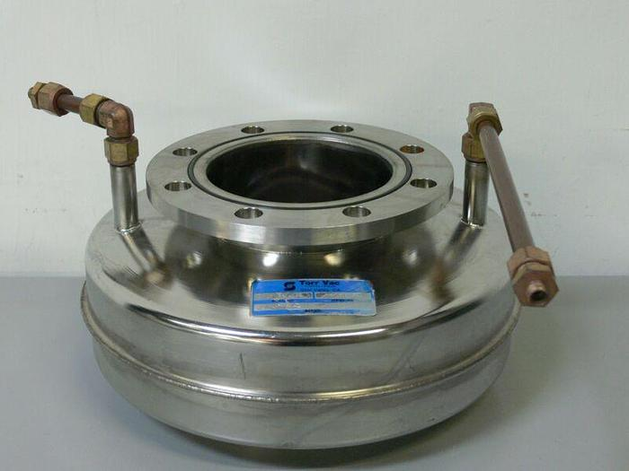 Used Torr Vac 856402 Stainless Steel High Vacuum Cold Trap
